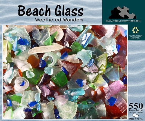 Weathered Wonders 550 Piece Puzzle Puzzles That Rock Beach Glass