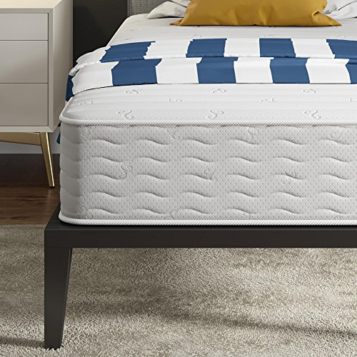 Signature Sleep Contour 10 Inch Reversible Independently Encased Coil Mattress with CertiPUR-US certified foam, Twin