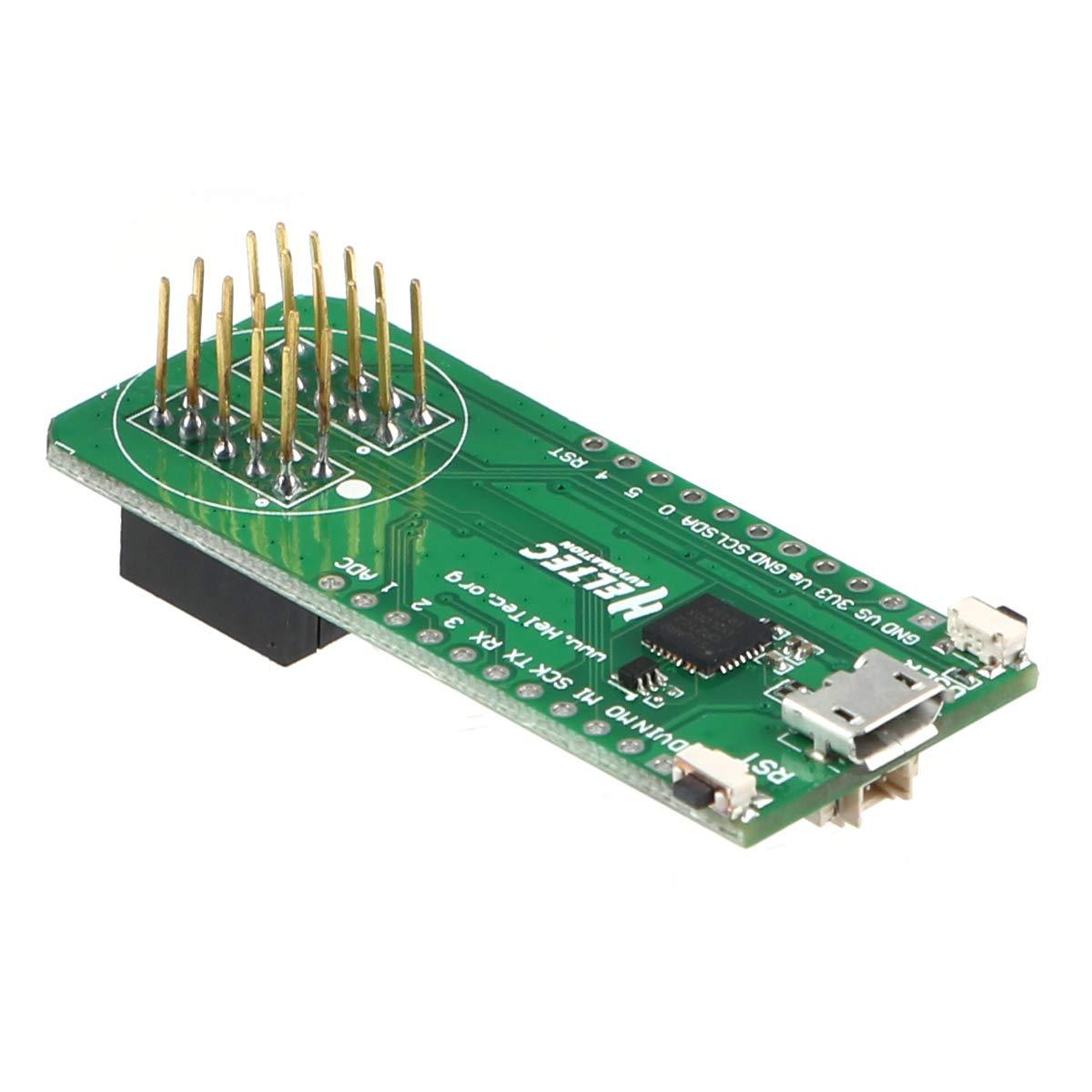 seamuing USB-Adapter Board Dedicated Debugger mit CP2102 Power Management f/ür Kapsel Lora Sensor HTCC-AC01