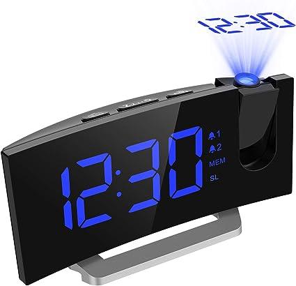 Actualizado] Mpow Reloj Despertador Digital Proyctor,Pantalla LED ...