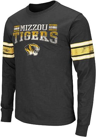 NCAA Mens Missouri tigres camisa camiseta de manga larga ...