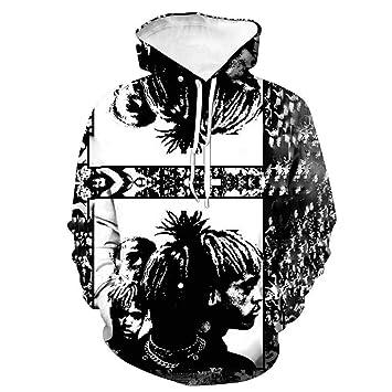 XXXTentacion Hombres Mujer Sudaderas Hombres Impresión Pareja Sudaderas con Capucha de Streetwear,17,S: Amazon.es: Bricolaje y herramientas