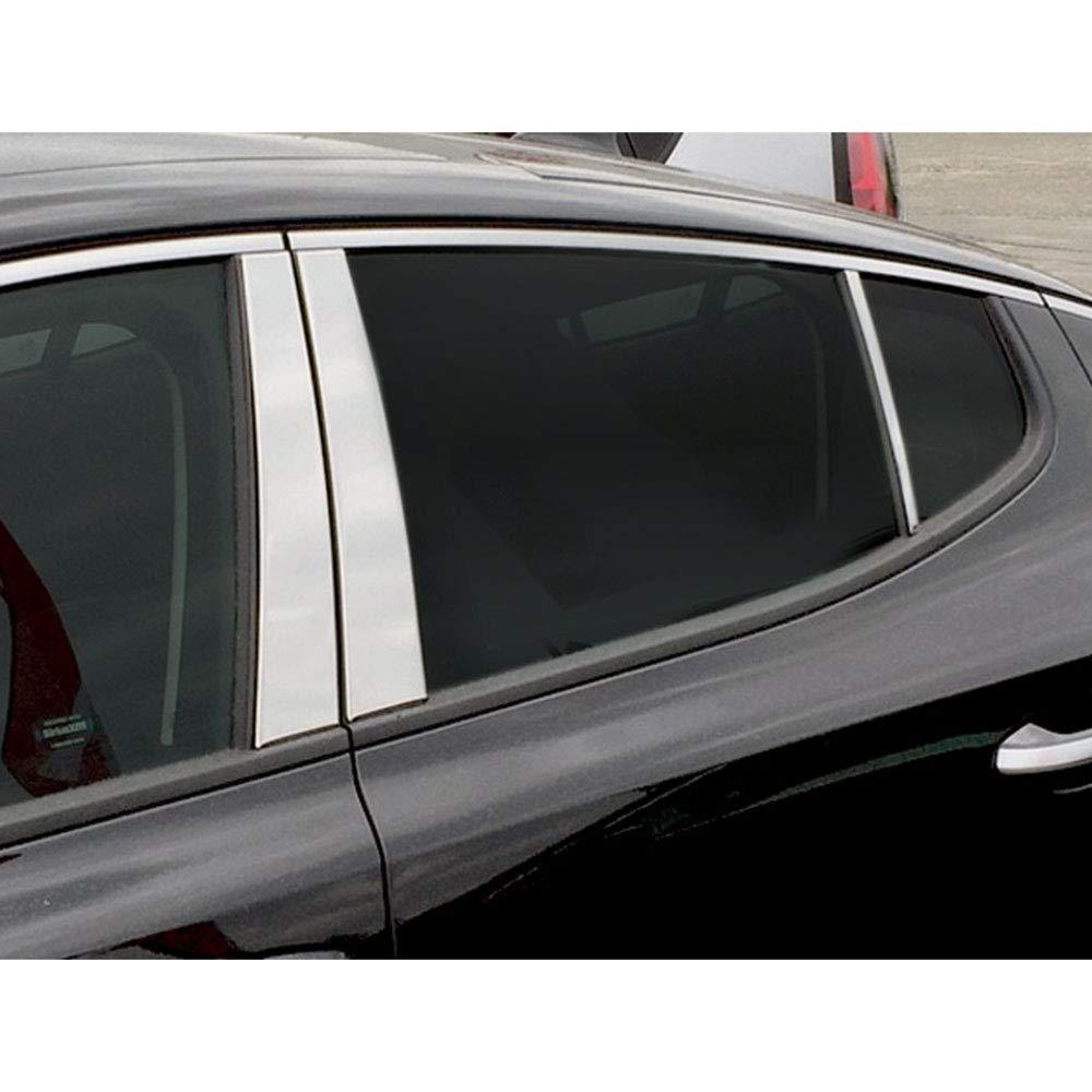 Elite Auto Chrome 6-Piece Pillar Post Trim fits 2018 Kia Stinger ...