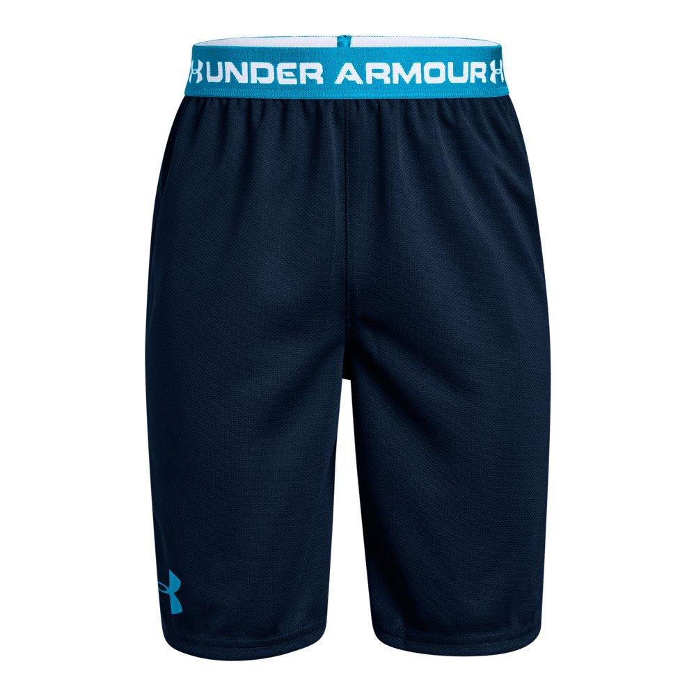 Under Armour Boys' Tech Prototype 2.0 Shorts, Academy (408)/Mediterranean, Youth Medium by Under Armour