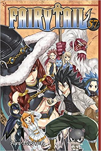 Fairy Tail 57 Hiro Mashima 9781632362919 Amazon Com Books