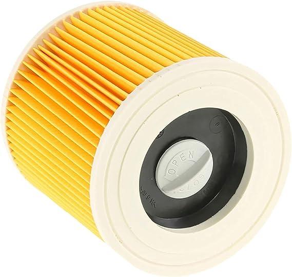 Verschluss 2x Patronen-Filter für Kärcher A 2200 A 2201 A 2204 A 2204 AF inkl