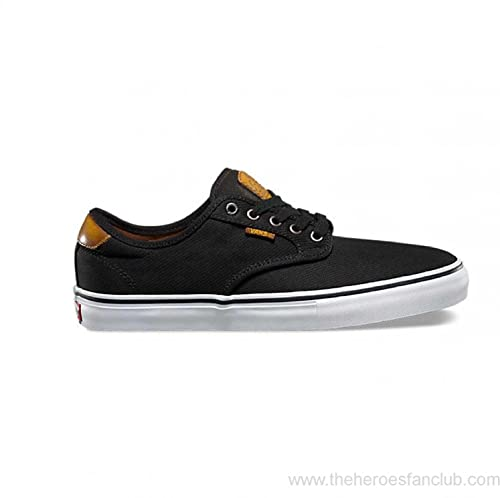 c0a591b23e Vans Chima Ferguson Pro (Burnished Leather Black) Mens Sneakers (7.5 Mens)