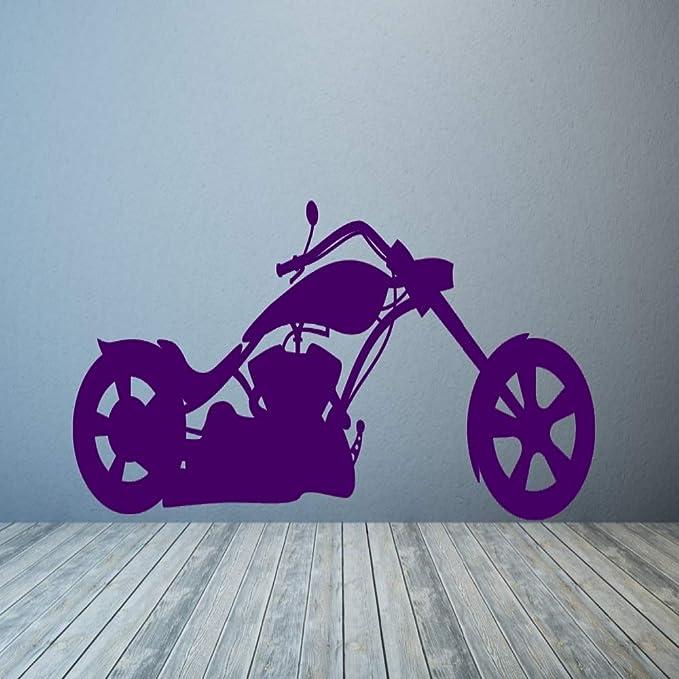 xingbuxin Patrón de la Motocicleta Tatuajes de Pared Arte Mural ...