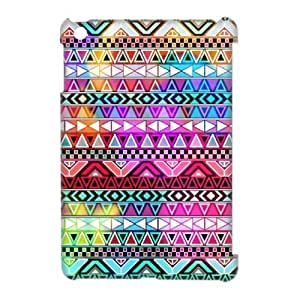 LZHCASE Diy Aztec Tribal Phone Case For iPad Mini [Pattern-1]