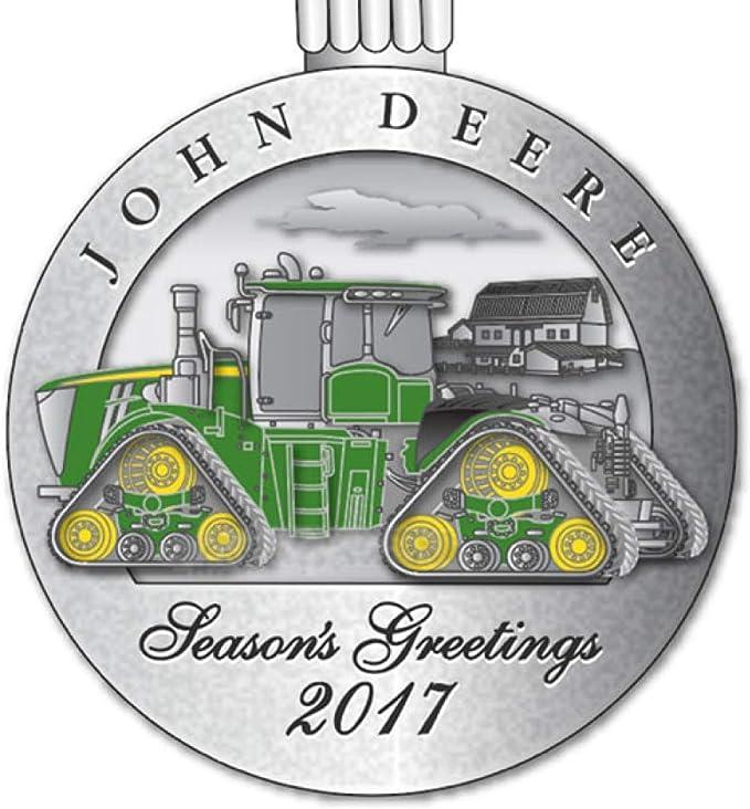 John Deere JD 2013 Pewter Christmas Ornament