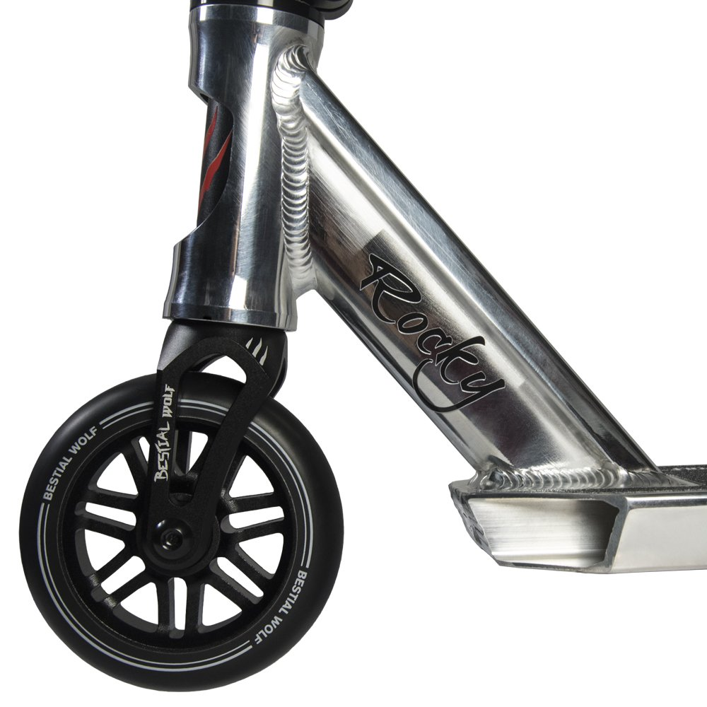 Bestial Wolf Rocky R10, Scooter Pro (Plata): Amazon.es ...