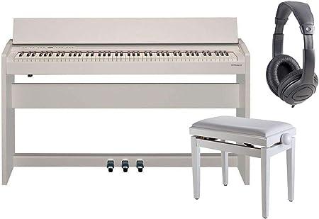 ROLAND F140R Blanco Piano Digital 88 Teclas con Móvil ...