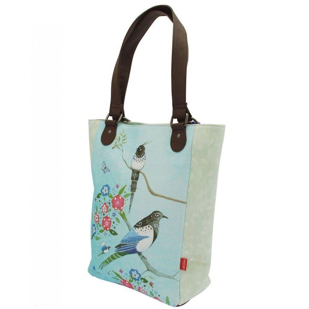 Santoro's Shopper Bag - Watercolour Birds