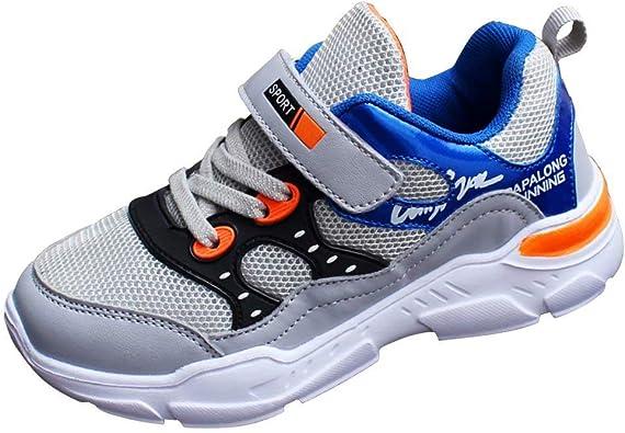 Niños Zapatos de Deporte Running Exterior Respirable Zapatillas ...