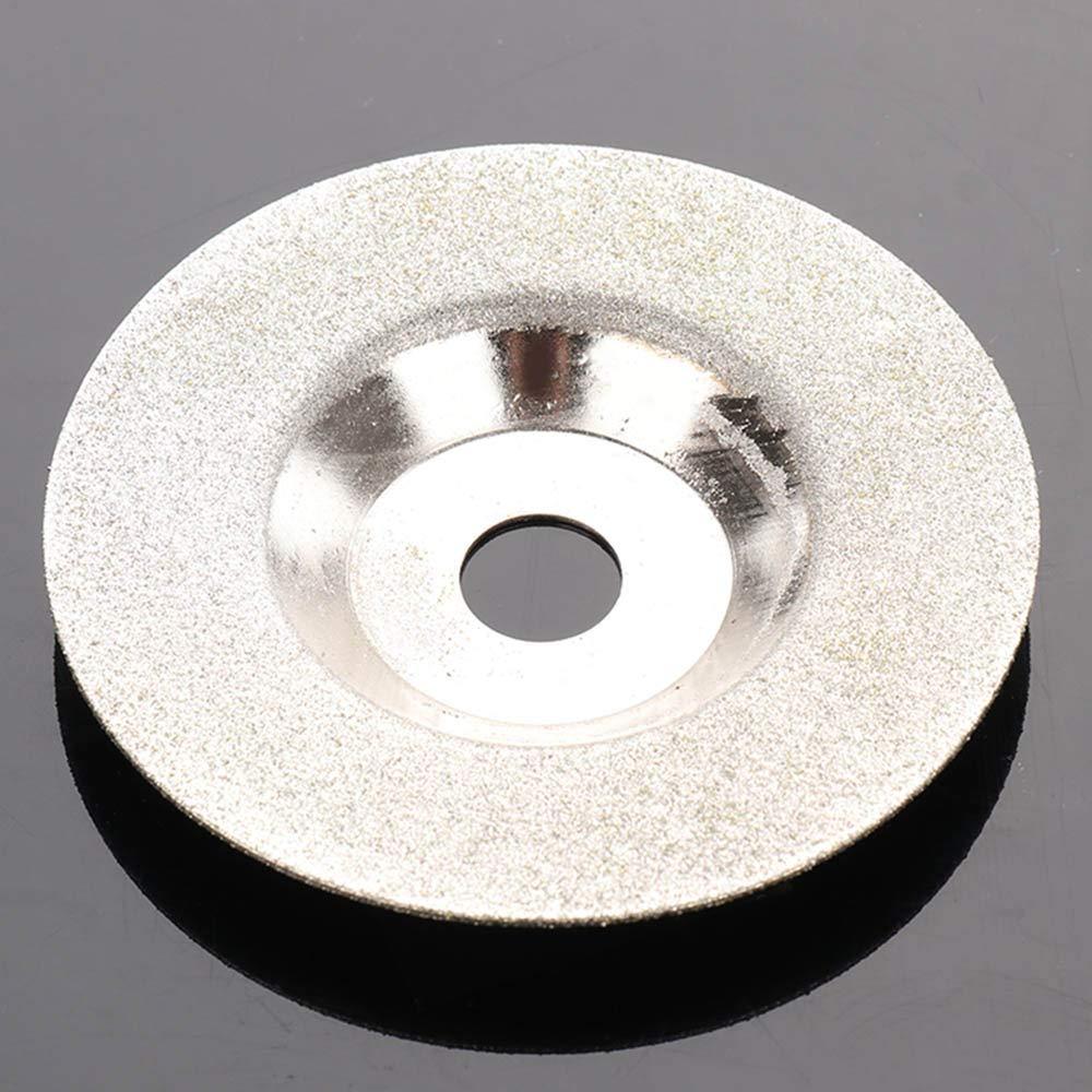 GoodFaith Disque /à poncer diamant/é en m/étal pour pierre 100 x 16 mm