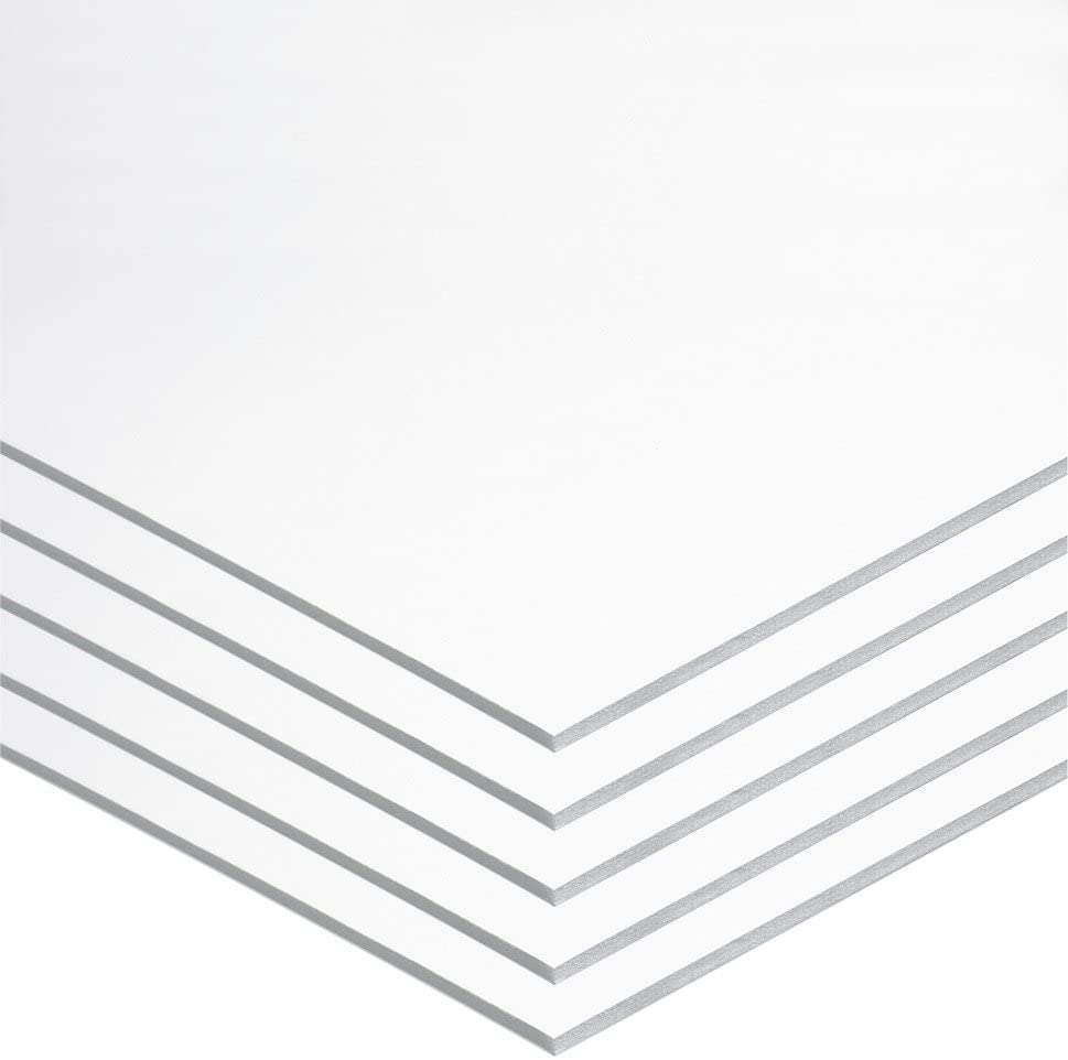 """UCreate Foam Board, White, 22"""" x 28"""", 5 Sheets : Office Products"""