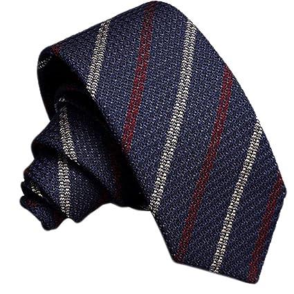 4a85afd94c HUIFA Cravatta Uomo Italia Importato Tessuto Misto Cotone Seta ...