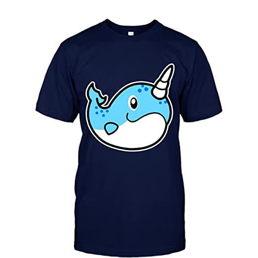 2fdf8553 Narwhal Cool Tshirt - Love Narwhal Emoji Tee Shirt Design for Men and Women  | Amazon.com