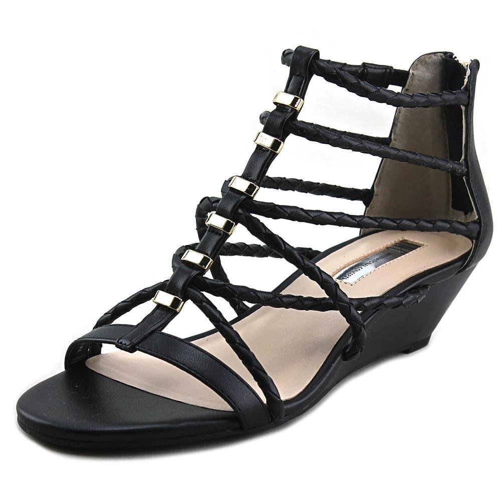 INC International Concepts Womens Makera Open Toe Casual Strappy Sandals B01N4QA28D 9.5 B(M) US|Black