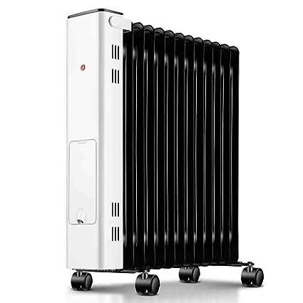 AINUO-Calentador 2200W Calentador eléctrico doméstico de bajo Consumo eléctrico Calentador de Aceite eléctrico de