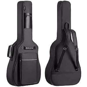 Funda para guitarra clásica con acolchado de 10mm, marca Cibeles: Amazon.es: Instrumentos musicales