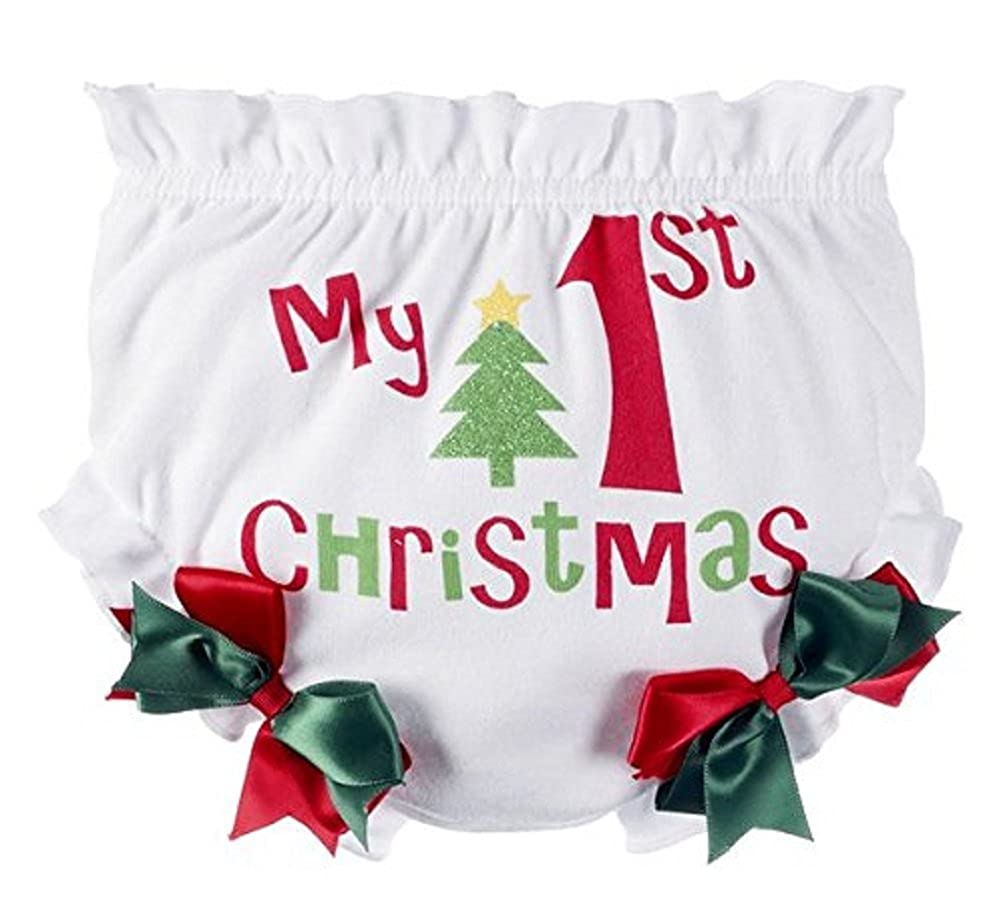My 1st Christmas Baby Bloomers