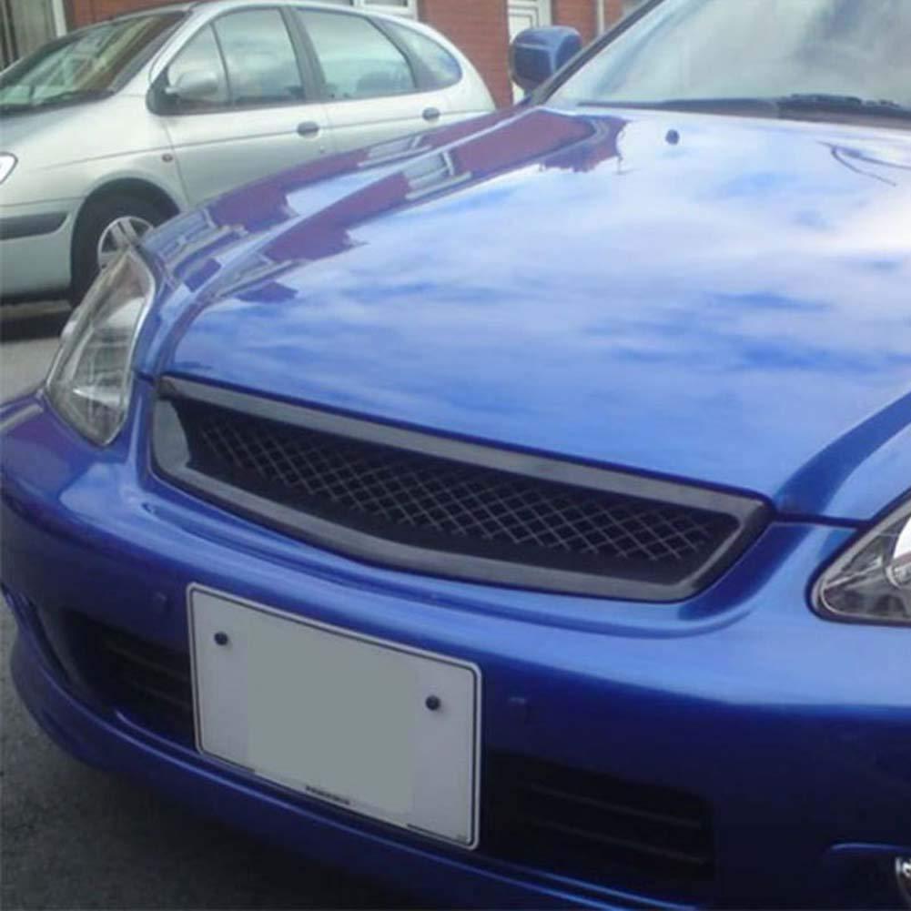Lispeed Para 1999-2000 Honda Civic JDM Tipo R Malla Negra ABS ...