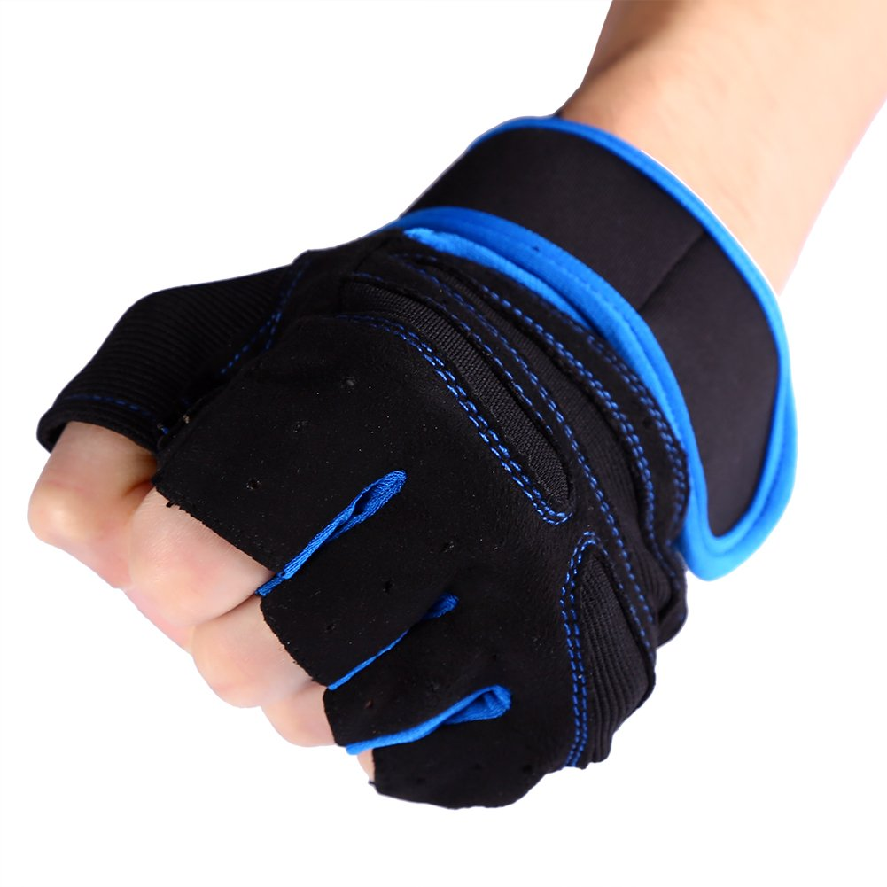 Naroote Sport Gloves 2 Pcs Exercise Fitness Wrist Wraps