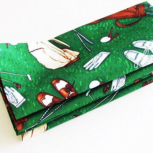Golf Game Cotton Napkins (Set of 4) ME2Designs Handmade Table Decor