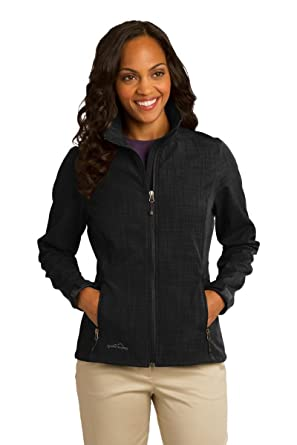 c21bbb868d8 Eddie Bauer - Ladies Shaded Crosshatch Soft Shell Jacket at Amazon ...