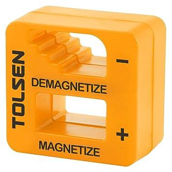 Tolsen - Magnetizador y Desmagnetizador para Destornilladores imantador