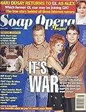 Soap Opera Magazine (October 13, 1998 - Cover: Brad Maule, Jacklyn Zeman & Julian Stone)