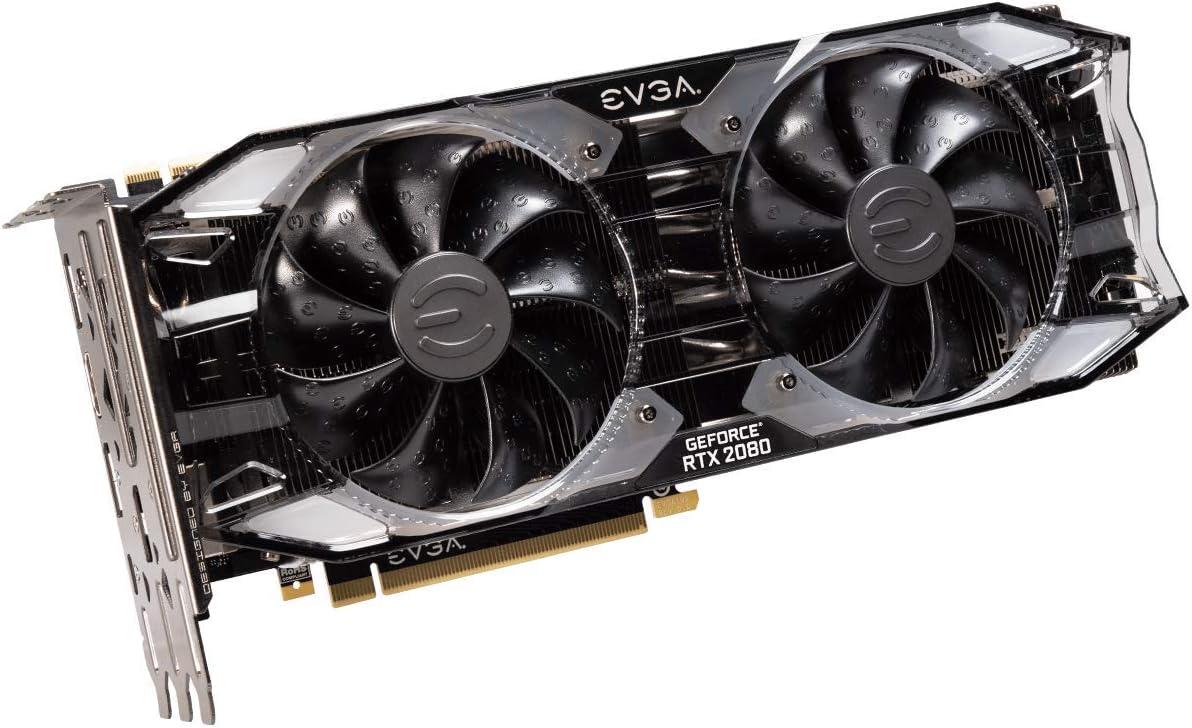 Dual HDB Fans /& RGB LED Graphics Card 11G-P4-2383-KR Renewed EVGA GeForce RTX 2080 Ti XC ULTRA GAMING 11GB GDDR6