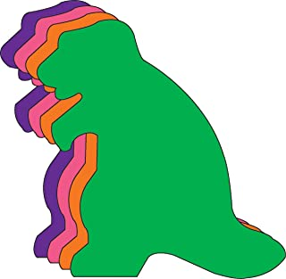 """product image for 5.5"""" Dinosaur Assorted Color Creative Cut-Outs, 31 Cut-Outs in a Pack for Dinosaur Activities and Themed Events, Learning Games Classroom Kids' School Craft Projects"""