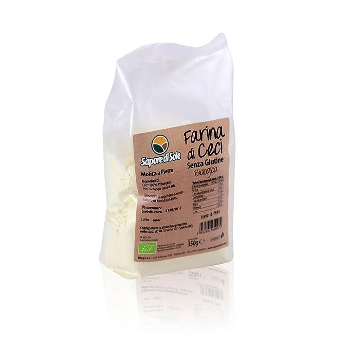 Harina de garbanzos BIO 350 g sin gluten: Amazon.es ...