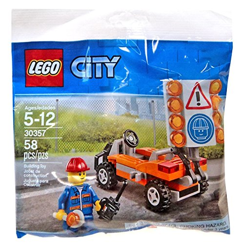 30357 city road worker polybag