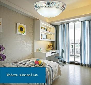 Hervorragend Deko Deckenleuchten Europäische Pastoralen Gemütliches Wohnzimmer  Schlafzimmer Kinder Klassisch Minimalistisch Kreisförmige LED Decken  Stilvolle