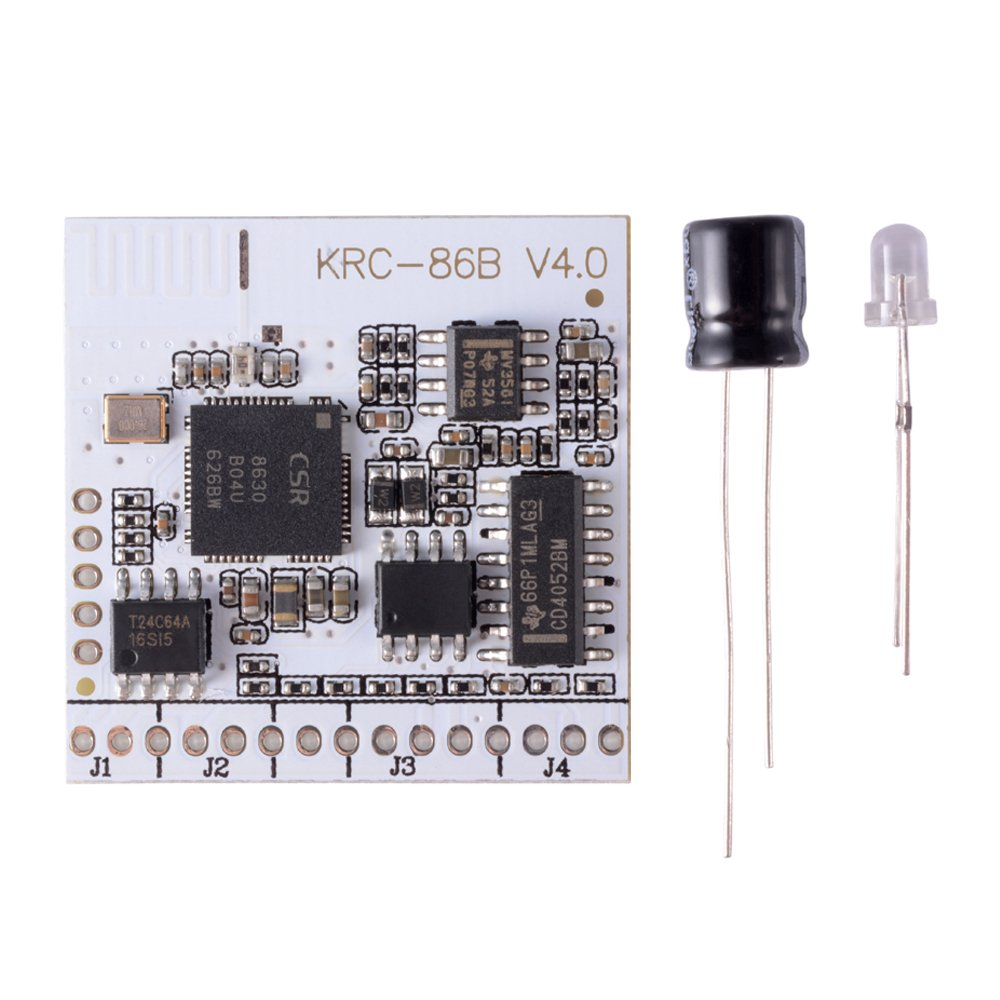 XCSOURCE KRC-86B Bluetooth V4.0 + EDR Stereo Module Audio Receiver Mini Wireless Sound Board for Cell Phone PC TE634