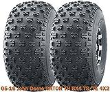 utility trailer 5x8 - Set 2 Utility ATV front tires 22.5x10-8 for 05-16 John Deere GATOR TH 6X4 TS/TE 4X2