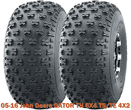 Set 2 Utility ATV front tires 22.5x10-8 for 05-16 John Deere GATOR TH 6X4 TS/TE - John Front Deere