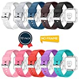 GreenInsync Compatible Fitbit Blaze Bands, Replacement for Fitbit Blaze Accessory Band Buckle Adjustable Wristband Small Large Bracelet Strap for Fitbit Blaze Smart Fitness Watch Women Men Grils Boys