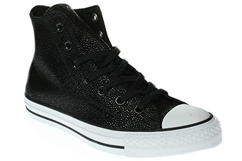 Converse Chuck Taylor All Star Stingray Metallic Black Leather 35.5 EU 662f1a14fa5