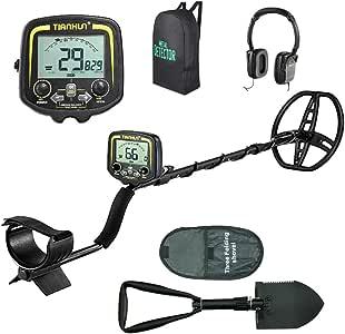 Znesd Detector de Metales Profesional, función Pinpoint, Detector de Metales IP68 a Prueba de Agua con una Alta precisión: Amazon.es: Jardín