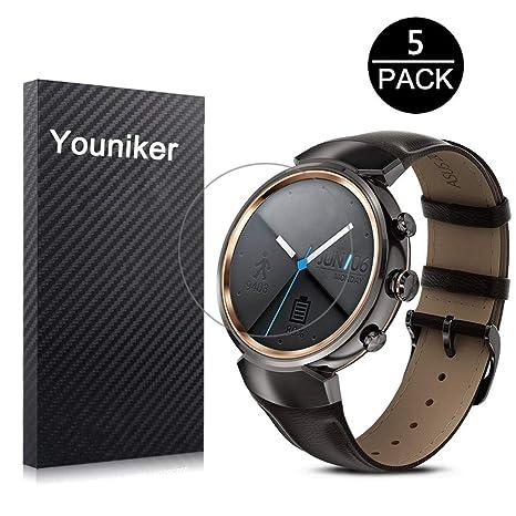youniker 5 unidades, Asus Zenwatch 3 Protector de pantalla ...