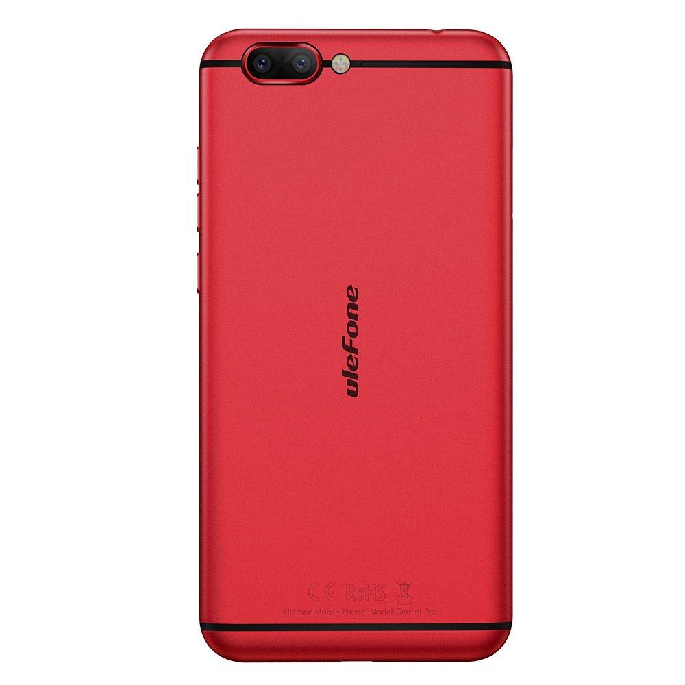 Smartphone Libre, Ulefone Gemini Pro 4G Teléfonos Móviles Libres Android 7.1, 5.5 pulgadas FHD Corning pantalla, MT6797 Helio X27 Deca Core 2.6GHz, ...