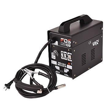 Aparato de Soldadura MIG (gas) Máquina de Soldar Portátil Eléctrico (Negro): Amazon.es: Bricolaje y herramientas