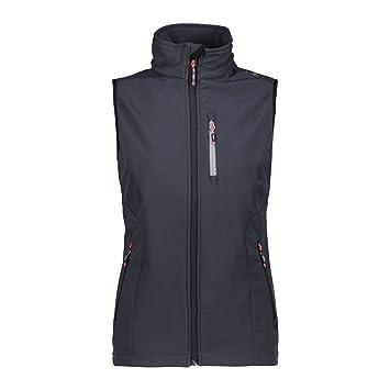 CMP, maglia in pile, giacca, donna, bluantracite