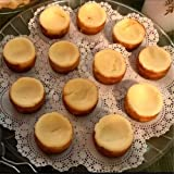 12 Cup Mini Round Tart Cheesecake Pan,Non-Stick Pie