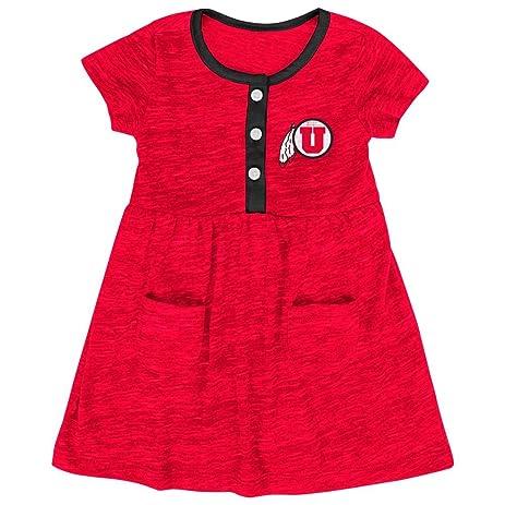 Amazon Com Infant Girls University Of Utah Utes Dress Baby