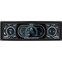 Favoto Autoradio Din 1 Bluetooth Freisprecheinrichtung Auto Radio MP3 FM Radio USB/SD/AUX Fernbedienung mit Deutscher Bedienungsanleitung